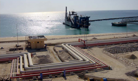 Qatar — Messaieed: Topsides Facilities to the Multi Products Berth