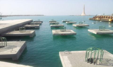 Saudi Arabia — Thuwal: KAUST Harbour Works