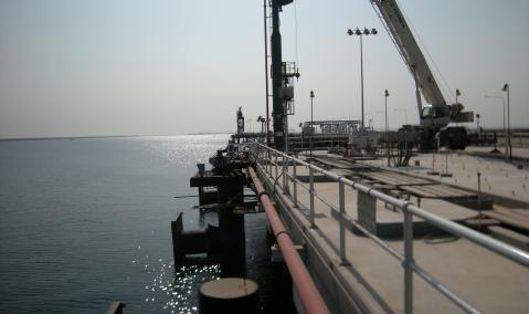 Construction of 2 Berths (34 & 35) at Jubail Port