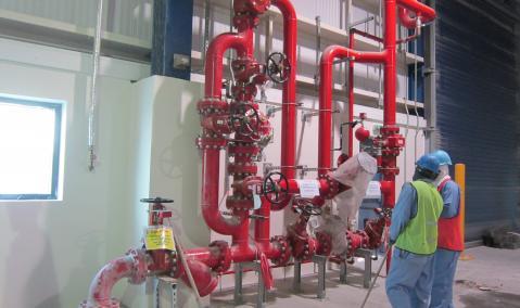 Qatar — Ras Laffan Port — Nakilat: Mechanical and Electrical Works