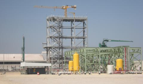 Construction of Support Facilities for Jubail Port Berths