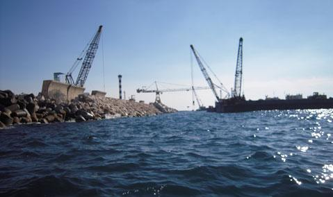 Libya — Tripoli Harbour: Breakwater Reconstruction