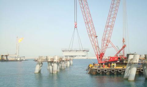 Qatar — Ras Laffan: LNG Berth No. 5