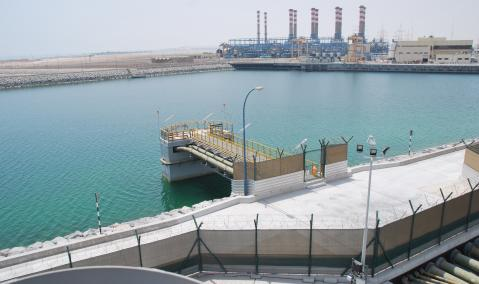 U.A.E. — Abu Dhabi — Mirfa: S/C for Linde Seawater and Intake/Outfall System