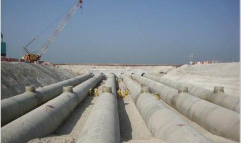U.A.E. — Abu Dhabi — EMAL: Seawater Supply and Return System