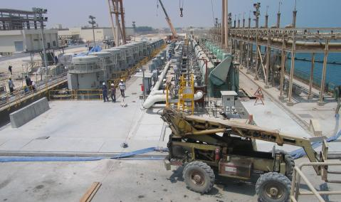 Rehabilitation of Concrete Structures in Jubail Desalination Plant — Contract No. 2