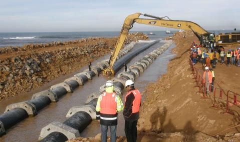 Morocco — Jorf Lasfar Offshore Works for Gypsum and Seawater Return