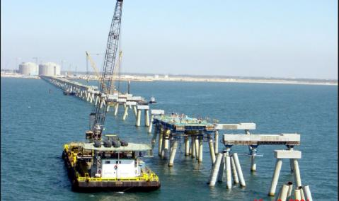 Egyptian LNG Project — Marine Facilities Work