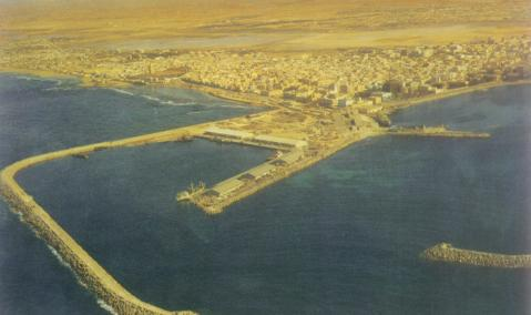 Port of Benghazi, Libya