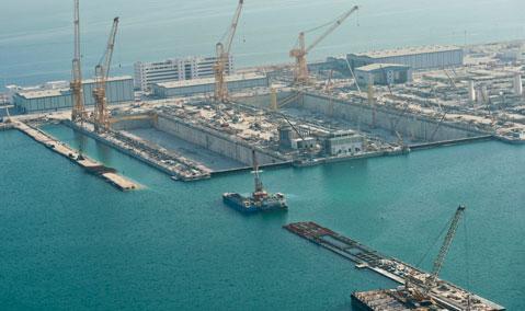 Qatar — Ras Laffan — Nakilat: Marine Works