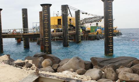 Saudi Arabia — Shoaiba II Power Plant: S/C for Daelim for Jetty and Seawater Cooling System