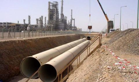 Saudi Arabia — Yanbu: Marafiq Seawater Cooling Pipeline Network