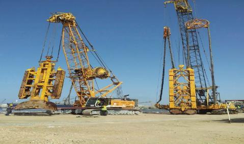 Berths 8 & 9 — Damietta Port, Egypt