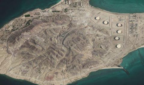 Site Preparation, Jetty & Seawater Intake — Zirku Island