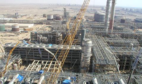 YANSAB Olefins Plant 1 — Civil Works at ISBL Area