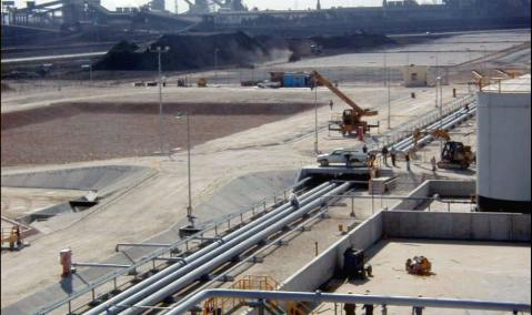 Petroleum Products and Coke Loading Terminal at Dekheila