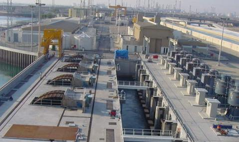 Construction of Seawater Cooling Pumphouse No. 2, Jubail