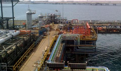 U.A.E. — Abu Dhabi — Ruwais : S/C for SAIPEM for Jetty Construction