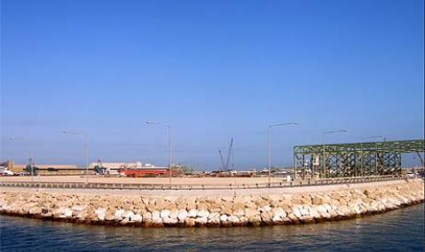 Construction of Petrochemical Quay No. 2, Jubail