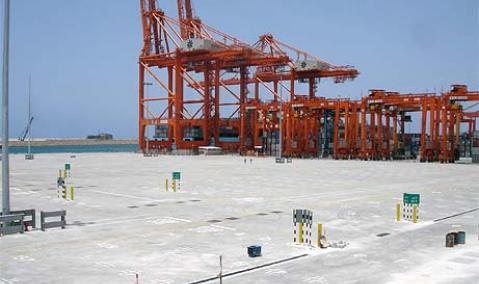 Oman — Salalah : Breakwater and Container Berths