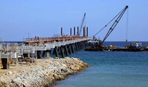 Oman — Sur: S/C for Technip for Jetty Construction