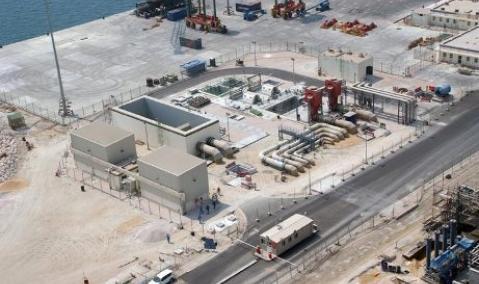 Qatar — Messaieed — Qatofin: Marine Works