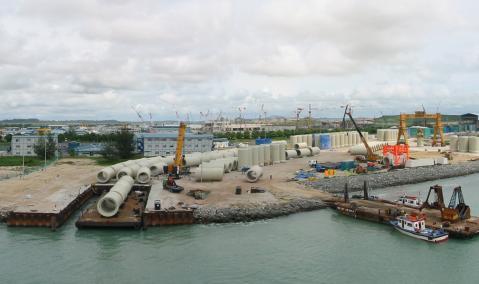 Singapore: Changi Outfall